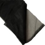 Szúnyogháló Tépőzáras, fekete színű