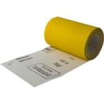 Csiszolópapír tekercsben sárga P120, 115mm 5m