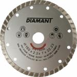 Gyémánt vágótárcsa turbo, 180mm